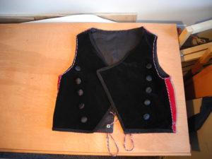 boys vest front